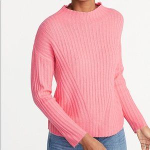 Old Navy Pink Mock Neck Sweater